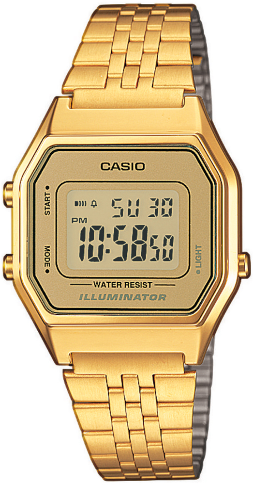 Zegarek damski Casio vintage midi LA680WEGA-9ER - duże 1