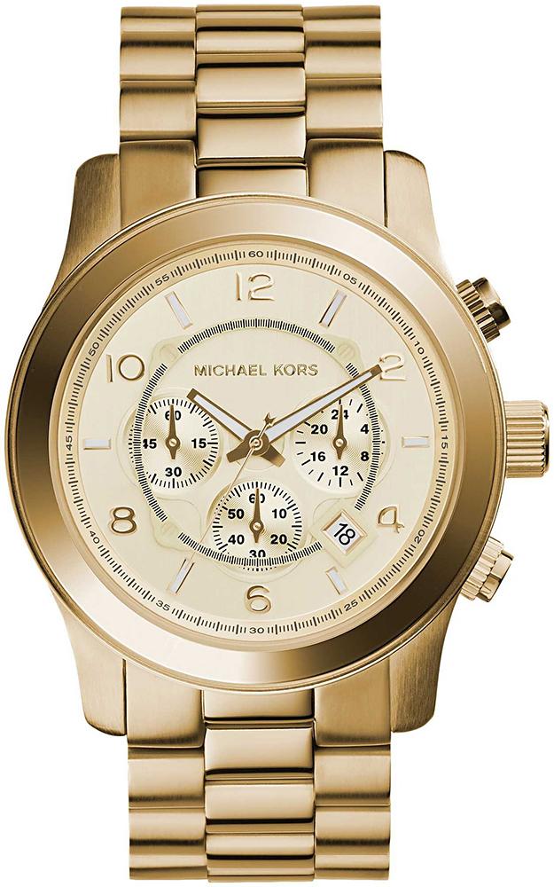 Zegarek męski Michael Kors runway MK8077 - duże 1