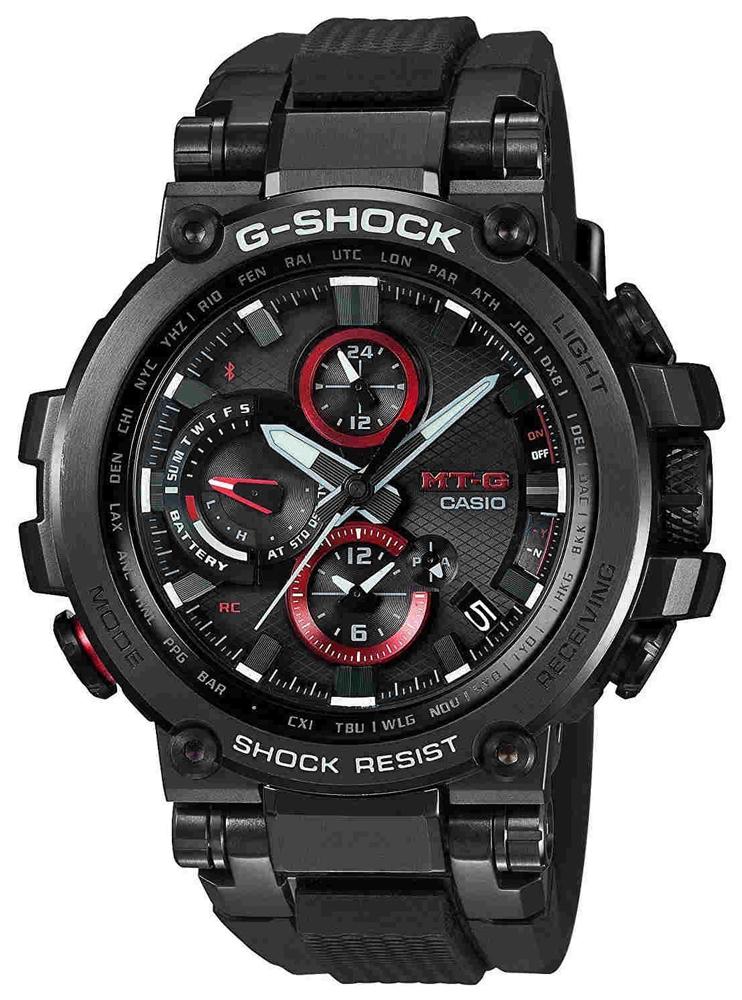 Zegarek męski Casio g-shock exclusive MTG-B1000B-1AER - duże 1