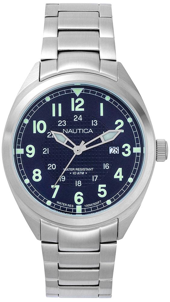Zegarek męski Nautica bransoleta NAPBTP004 - duże 1