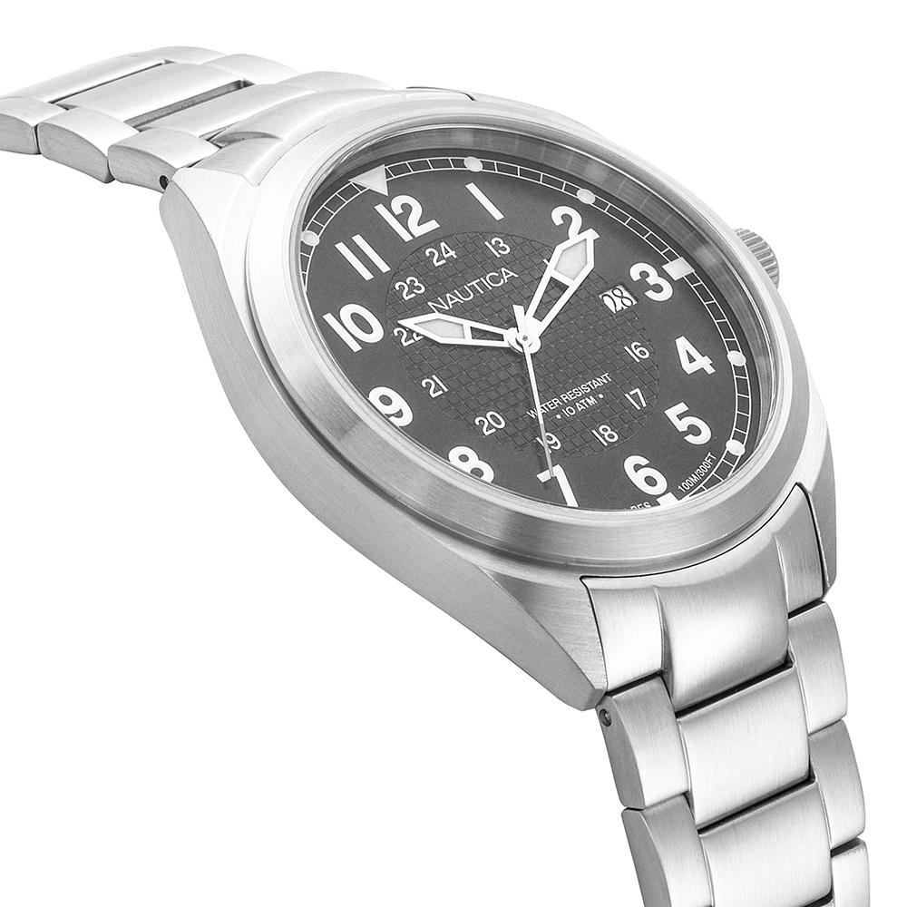 Zegarek męski Nautica bransoleta NAPBTP005 - duże 2