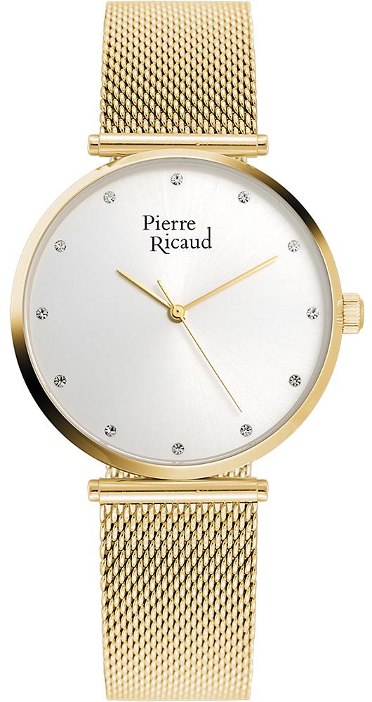 Zegarek damski Pierre Ricaud bransoleta P22035.1143Q - duże 1