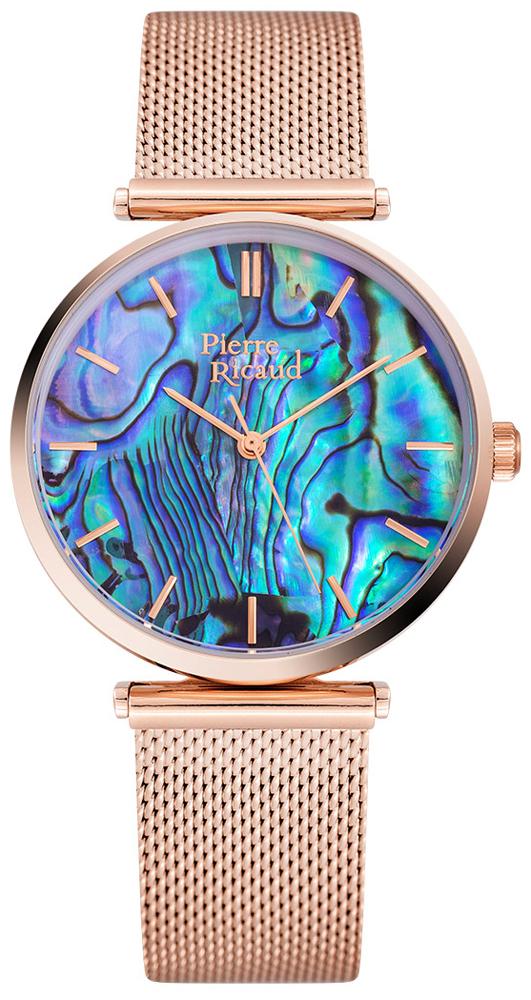 Zegarek damski Pierre Ricaud bransoleta P22096.911AQ - duże 1