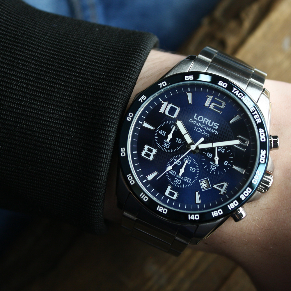 Zegarek męski Lorus sportowe RT353CX9 - duże 5