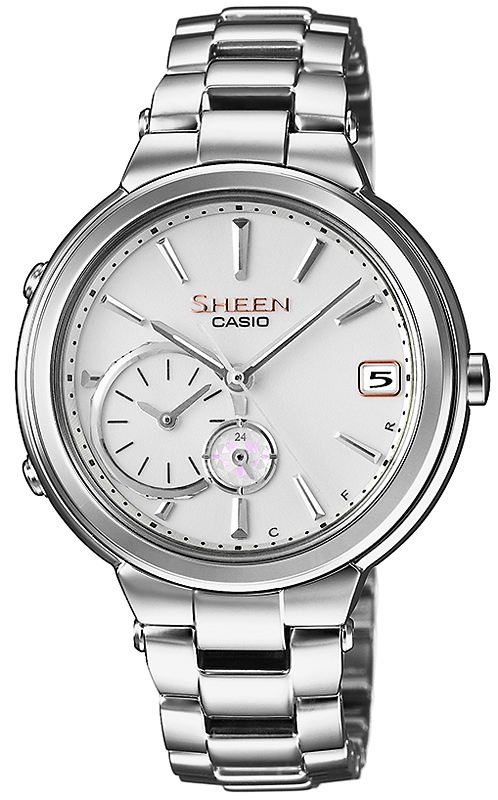 Zegarek damski Casio sheen SHB-200D-7AER - duże 1