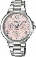 Zegarek damski Casio sheen SHE-3511D-4AUER - duże 1
