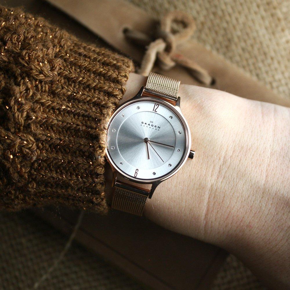 Zegarek damski Skagen anita SKW2151 - duże 2