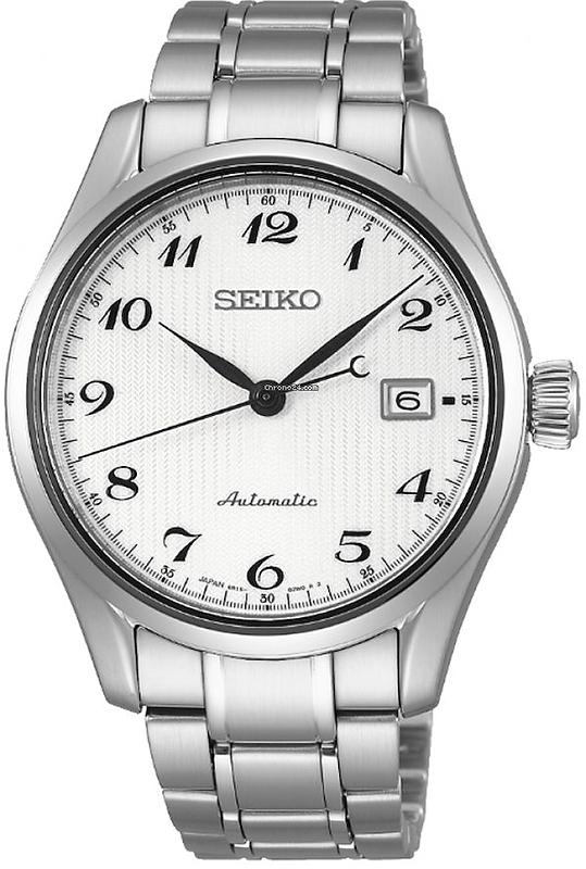 Zegarek męski Seiko automatic SPB035J1 - duże 1