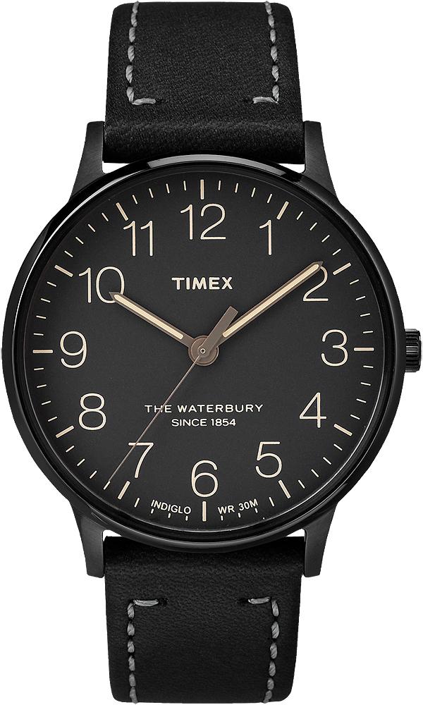 Zegarek męski Timex waterbury TW2P95900 - duże 1