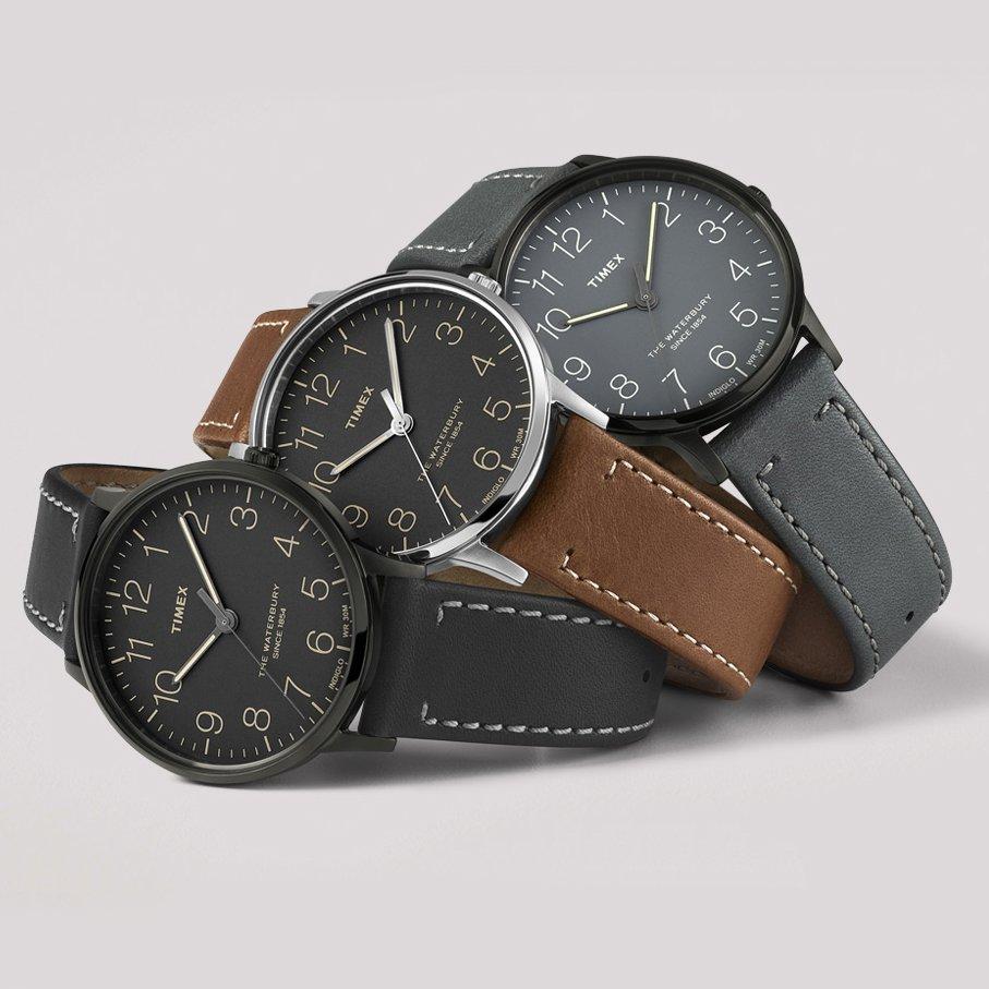 Zegarek męski Timex waterbury TW2P95900 - duże 3