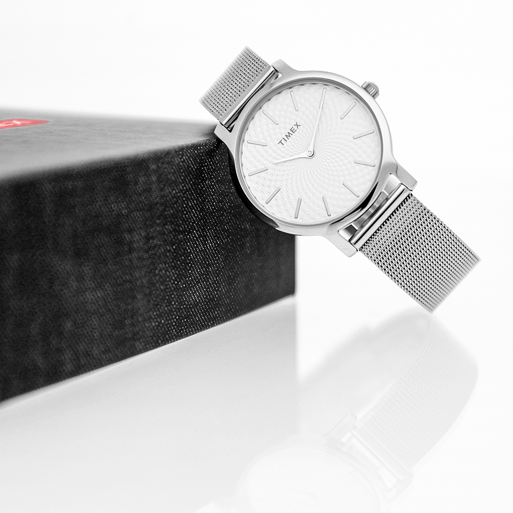 Zegarek damski Timex metropolitan TW2R36200 - duże 6