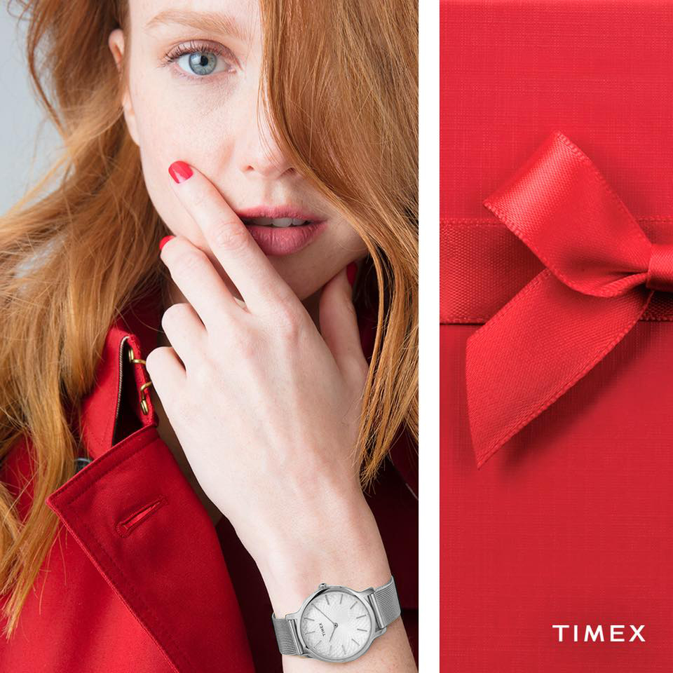 Zegarek damski Timex metropolitan TW2R36200 - duże 2