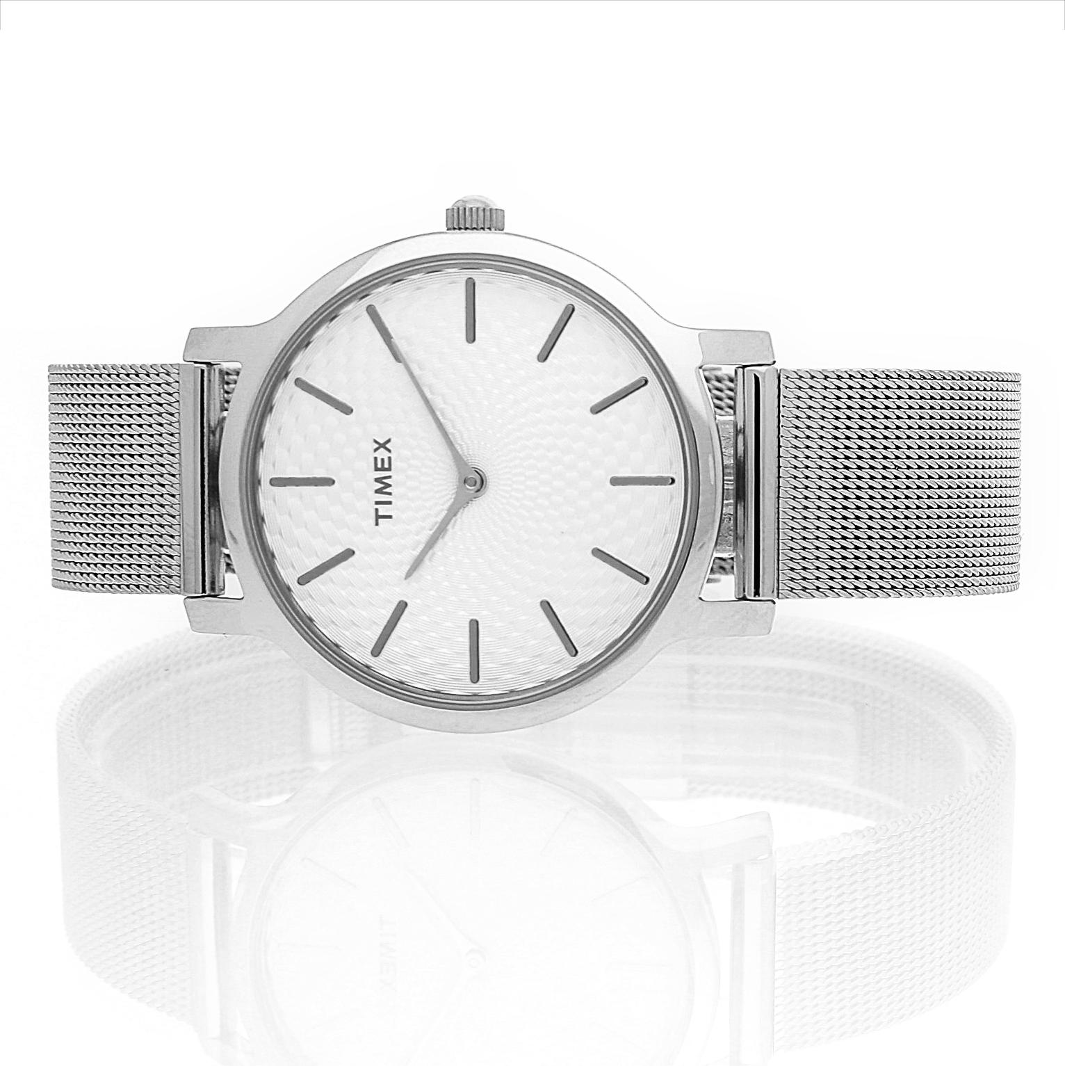 Zegarek damski Timex metropolitan TW2R36200 - duże 5