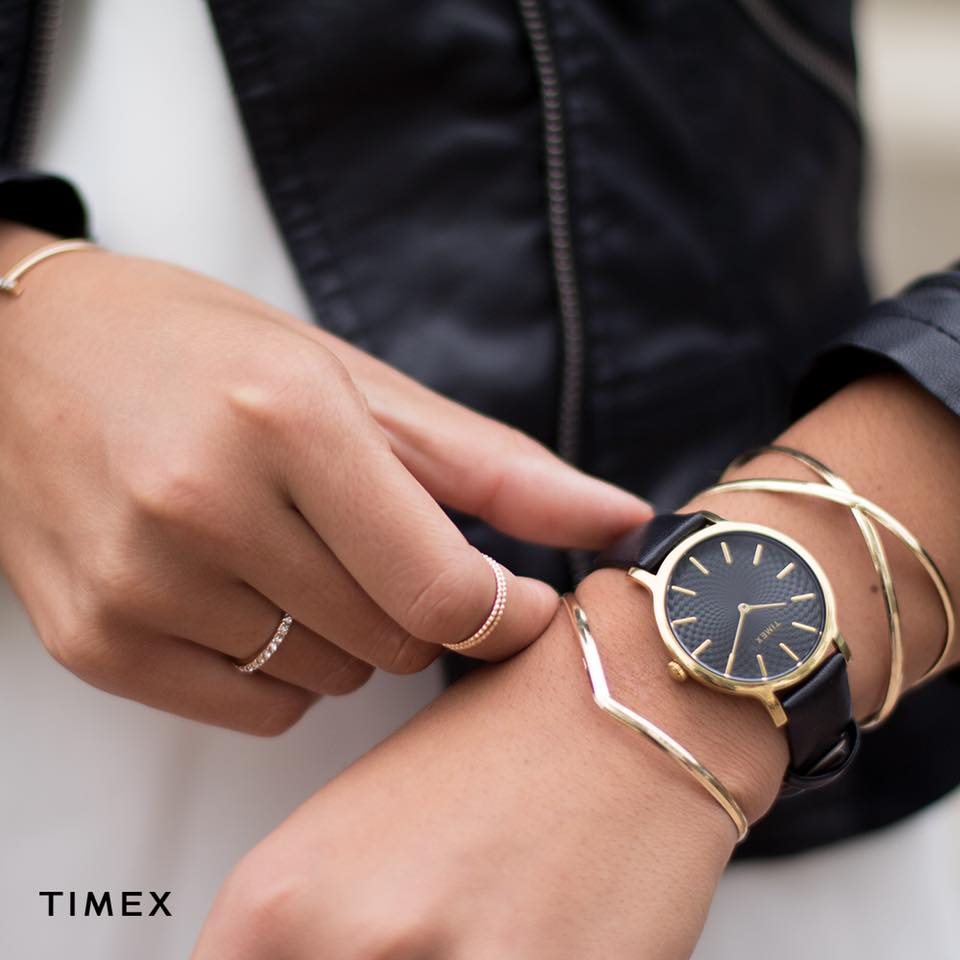 Zegarek damski Timex metropolitan TW2R36400 - duże 2