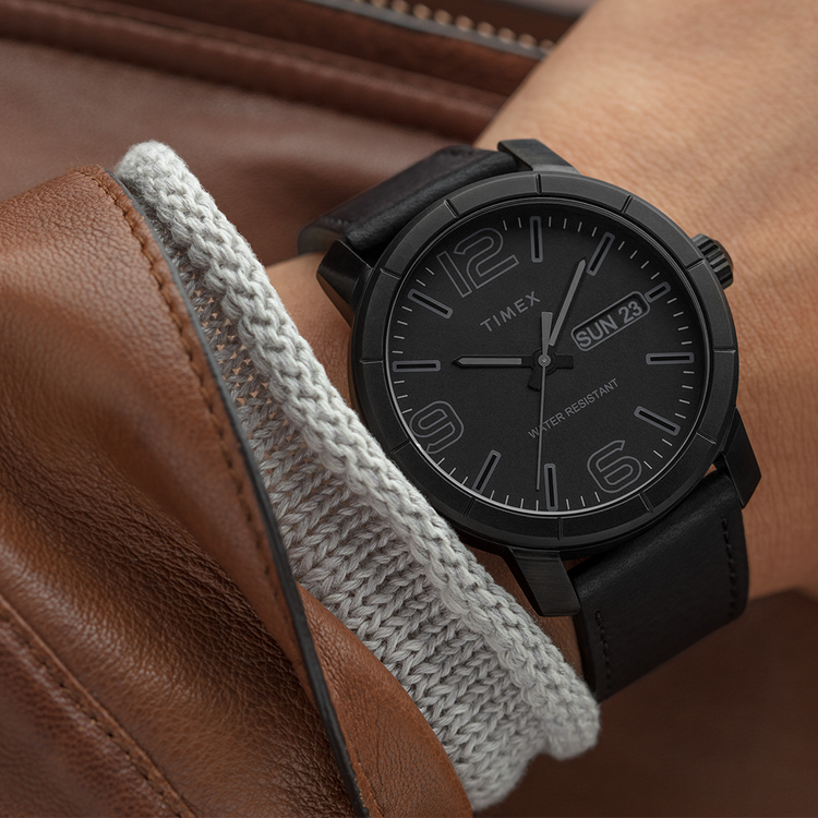 Zegarek męski Timex easy reader TW2R64300 - duże 3