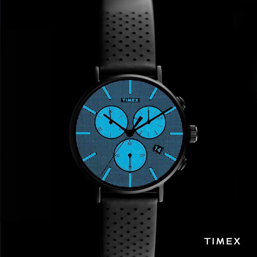 Zegarek męski Timex fairfield TW2R79800 - duże 5