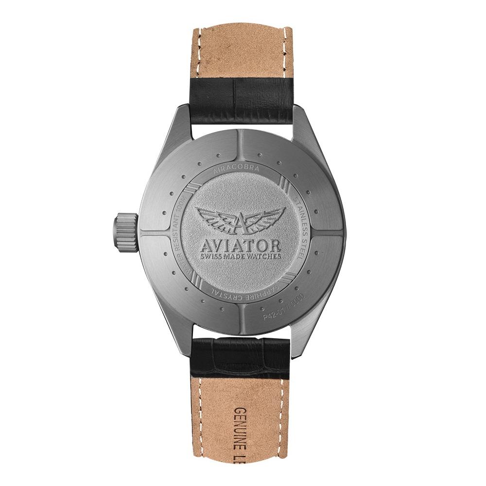 Zegarek męski Aviator airacobra V.1.22.0.149.4 - duże 1