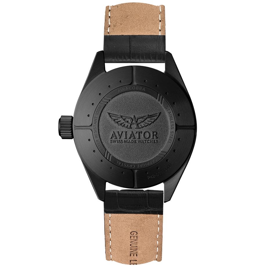 Zegarek męski Aviator airacobra V.1.22.5.157.4 - duże 1