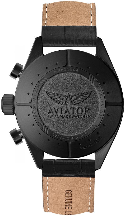 Zegarek męski Aviator airacobra V.2.25.5.169.4 - duże 1
