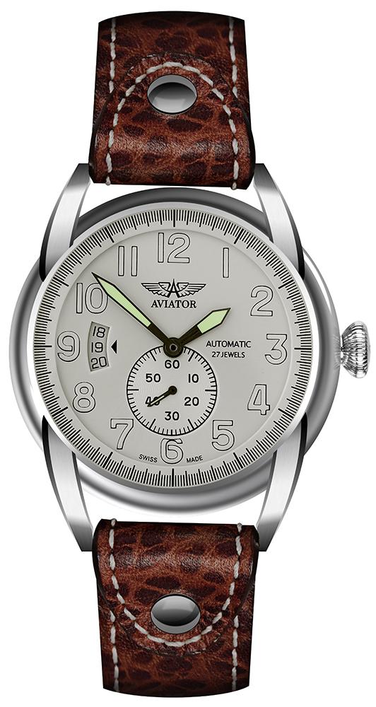 Zegarek męski Aviator bristol V.3.07.0.019.4 - duże 1