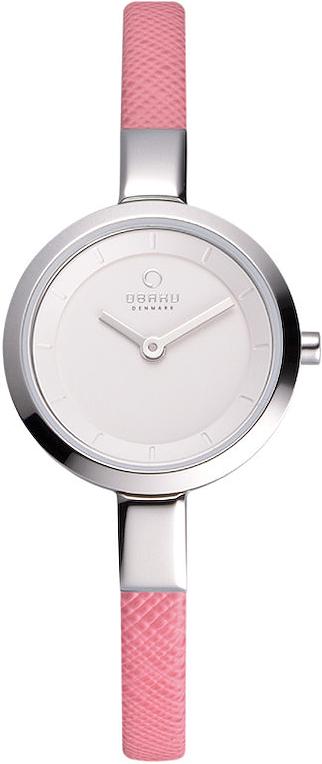 Zegarek damski Obaku Denmark slim V129LCIRP - duże 1