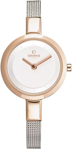 Zegarek damski Obaku Denmark slim V129LVIMC - duże 1