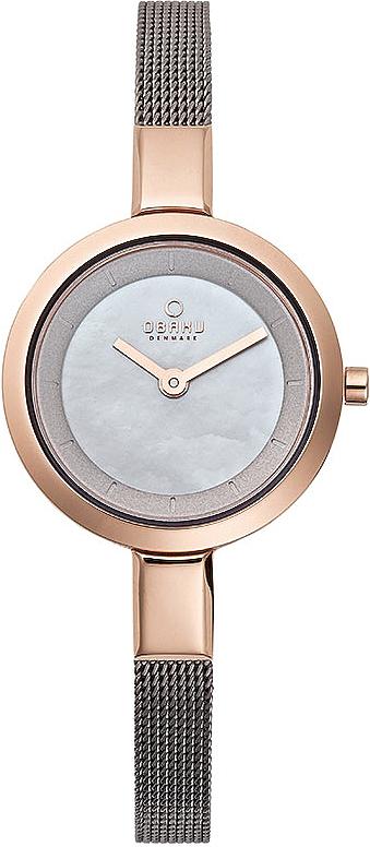 Zegarek damski Obaku Denmark slim V129LVJMJ - duże 1