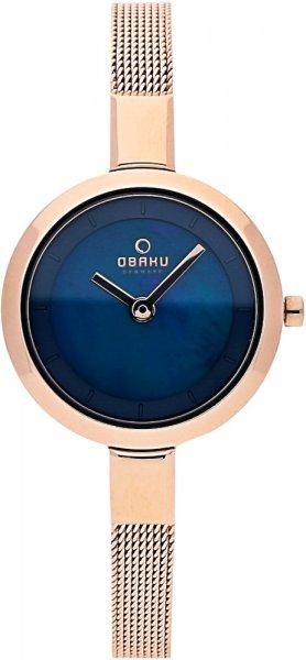 Zegarek damski Obaku Denmark slim V129LVLMV - duże 1