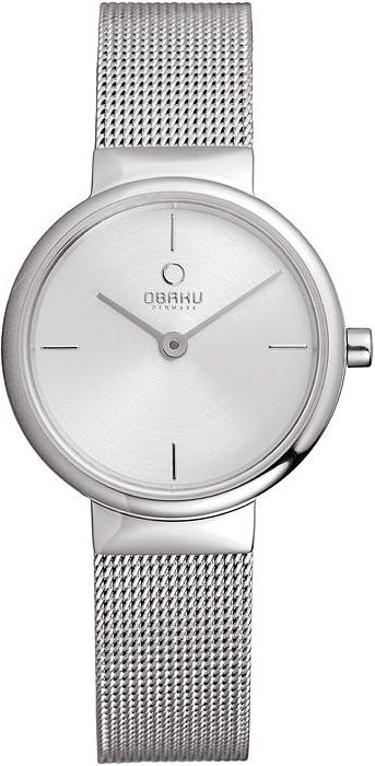 Zegarek damski Obaku Denmark slim V153LCIMC - duże 1