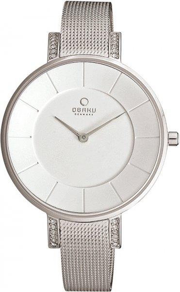 Zegarek damski Obaku Denmark slim V158LECIMC - duże 1