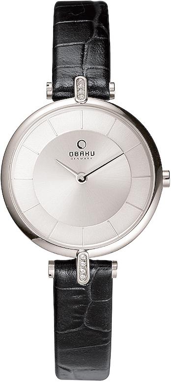 Zegarek damski Obaku Denmark slim V168LECIRB - duże 1