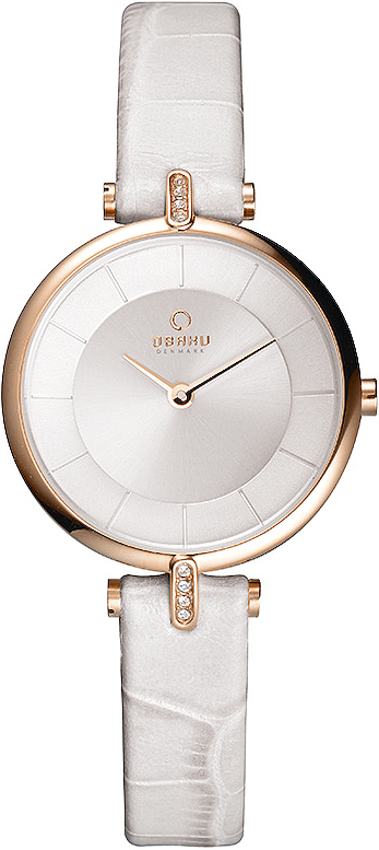 Zegarek damski Obaku Denmark slim V168LEVIRW - duże 1