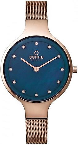 Zegarek damski Obaku Denmark slim V173LXVLMV - duże 1