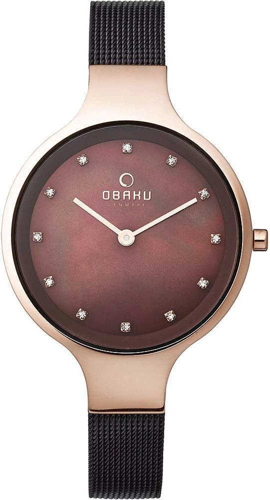 Zegarek damski Obaku Denmark slim V173LXVNMN - duże 1