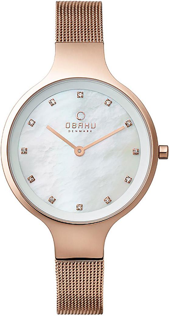 Zegarek damski Obaku Denmark slim V173LXVWMV - duże 1