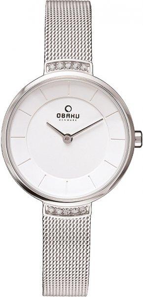 Zegarek damski Obaku Denmark slim V177LECIMC - duże 1