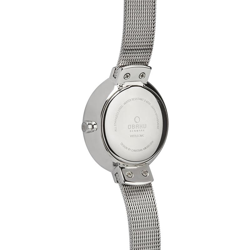 Zegarek damski Obaku Denmark slim V177LECIMC - duże 2