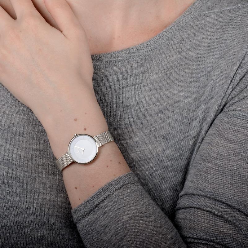 Zegarek damski Obaku Denmark slim V177LECIMC - duże 3