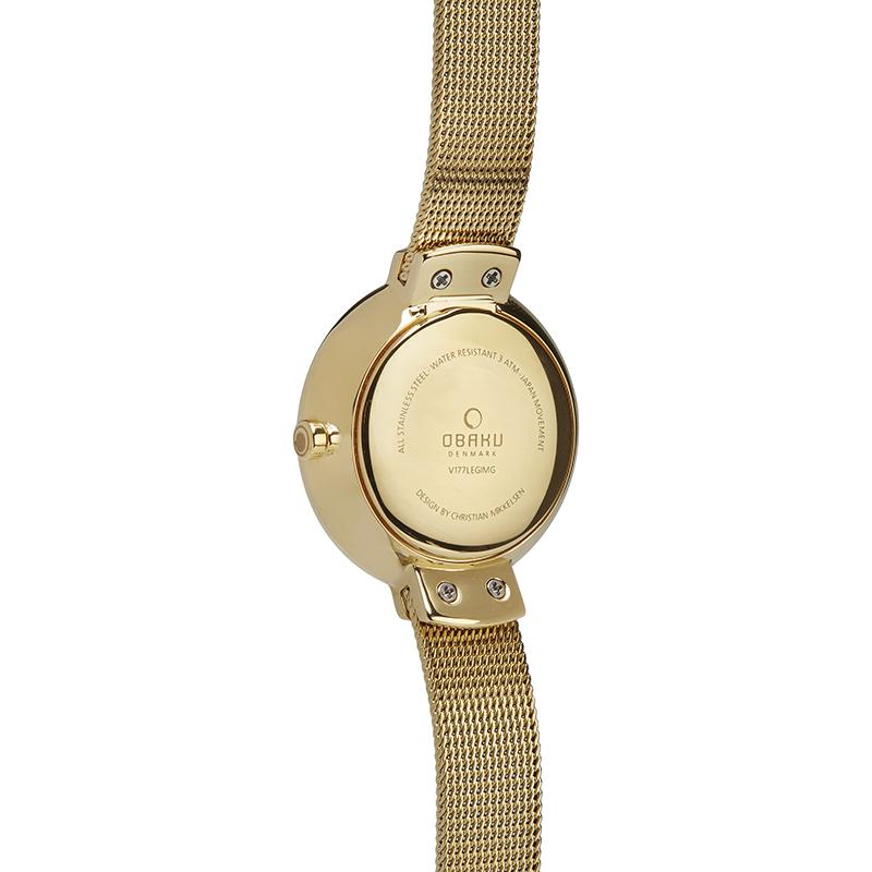 Zegarek damski Obaku Denmark slim V177LEGIMG - duże 2