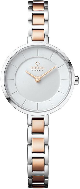 Zegarek damski Obaku Denmark slim V183LXCISC - duże 1