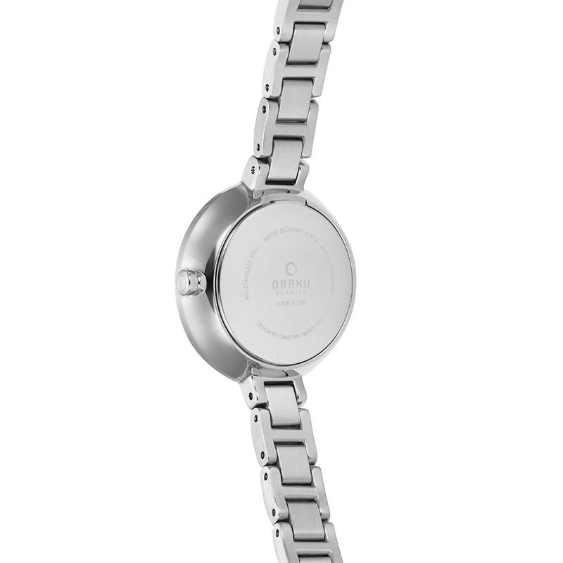 Zegarek damski Obaku Denmark slim V183LXCISC - duże 2