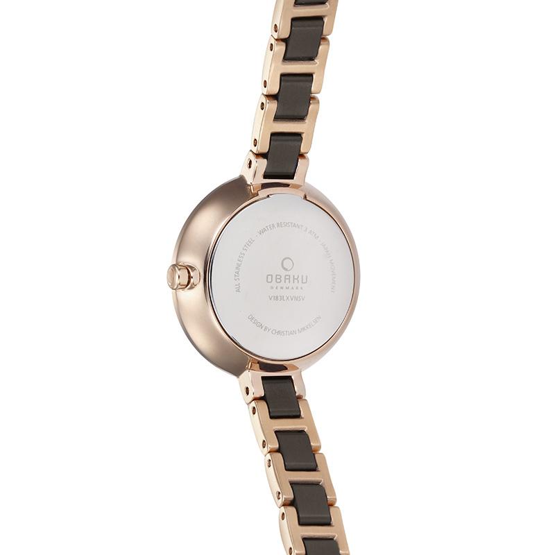 Zegarek damski Obaku Denmark slim V183LXVNSV - duże 1