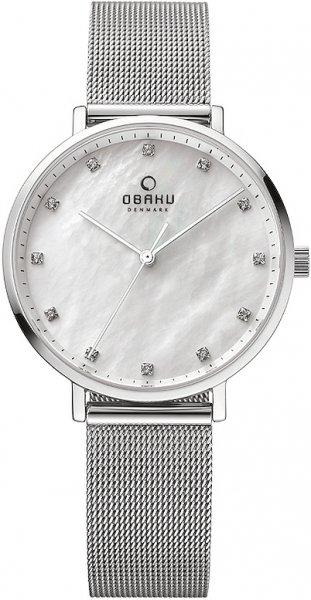 Zegarek damski Obaku Denmark slim V186LXCWMC - duże 1