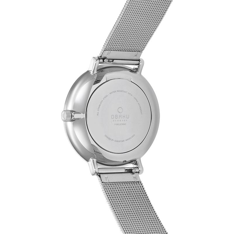 Zegarek damski Obaku Denmark slim V186LXCWMC - duże 6