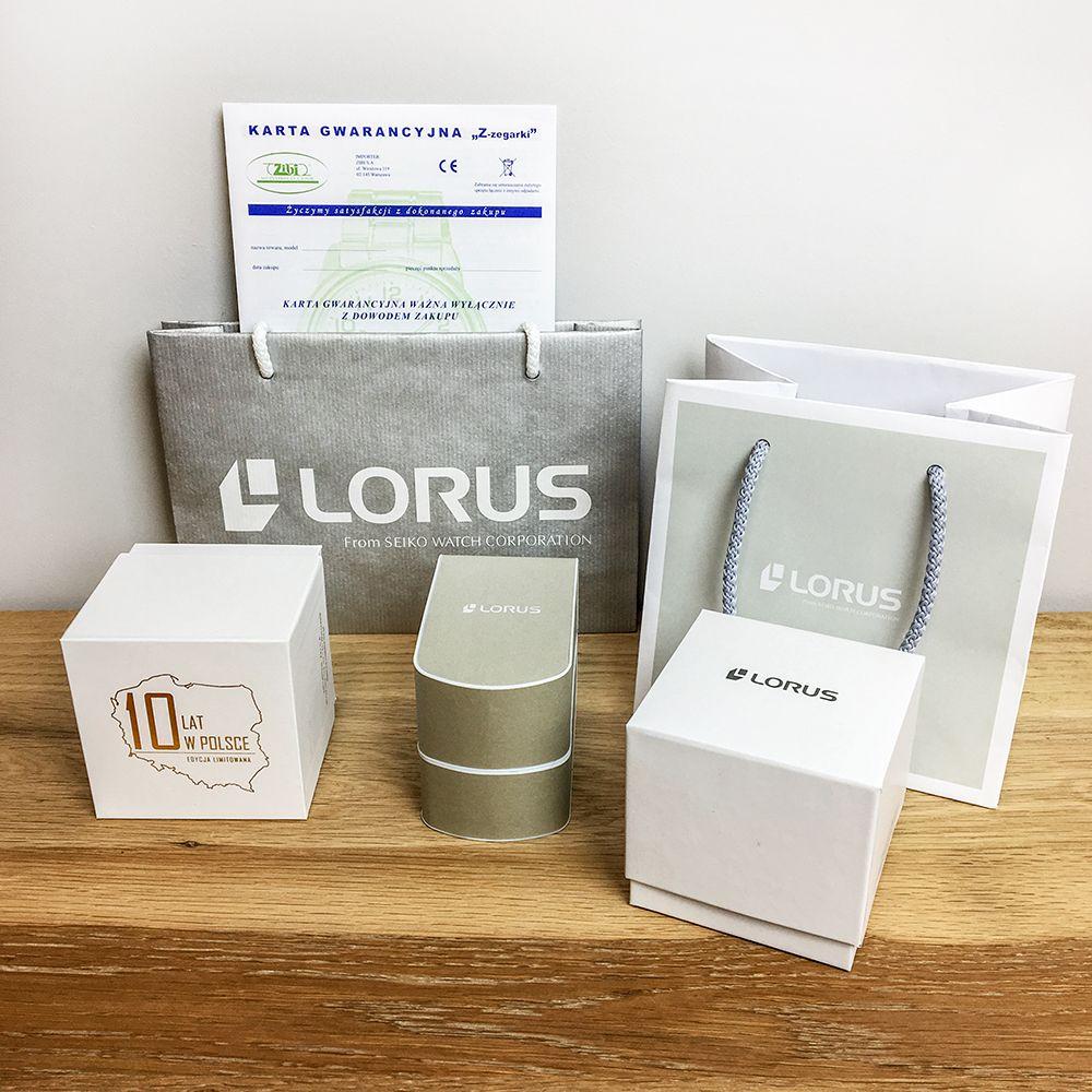 Zegarek damski Lorus klasyczne RG206QX9 - duże 8