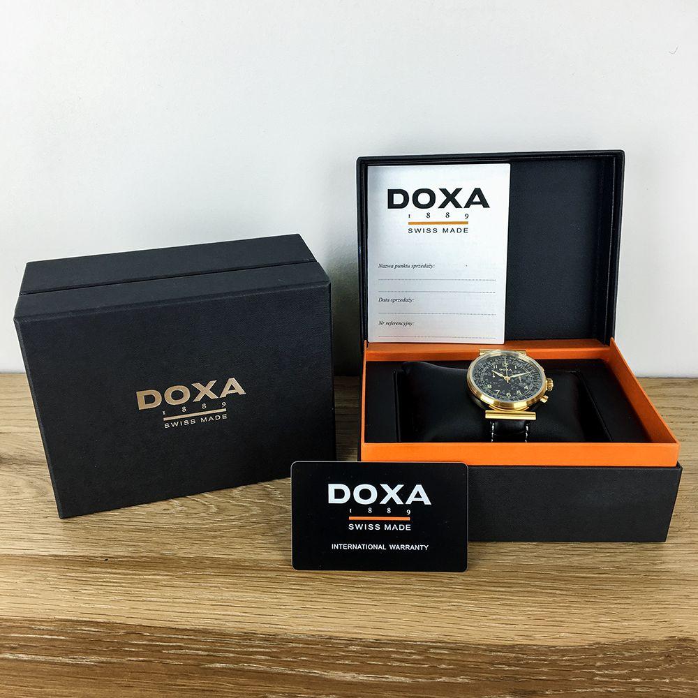 Zegarek damski Doxa royal 222.95.052.80 - duże 5