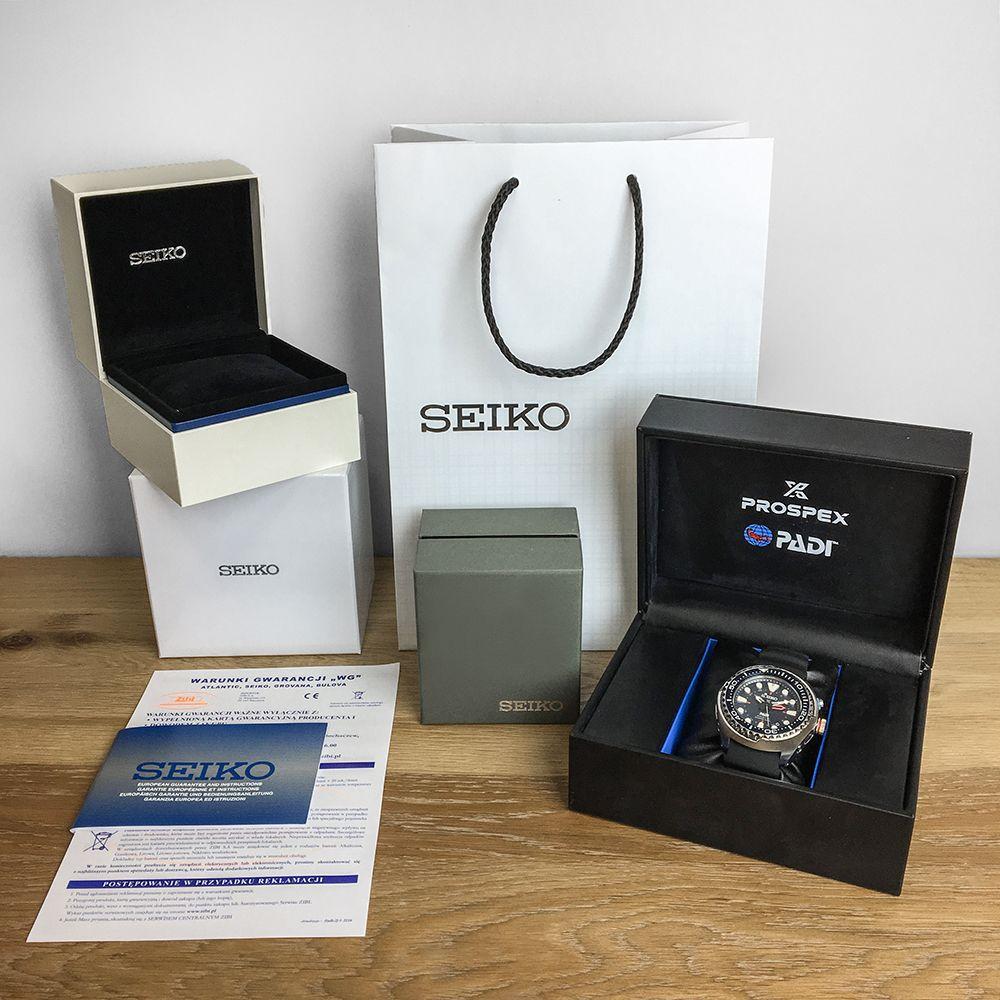 Zegarek męski Seiko presage SPB095J1 - duże 2