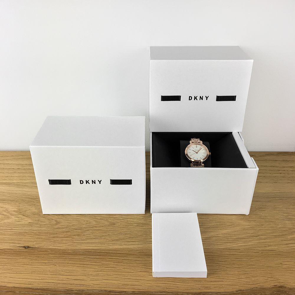 Zegarek damski DKNY bransoleta NY2935 - duże 3