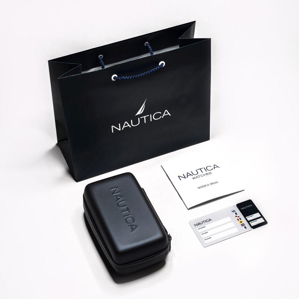 Zegarek męski Nautica bransoleta NAPBTP005 - duże 4