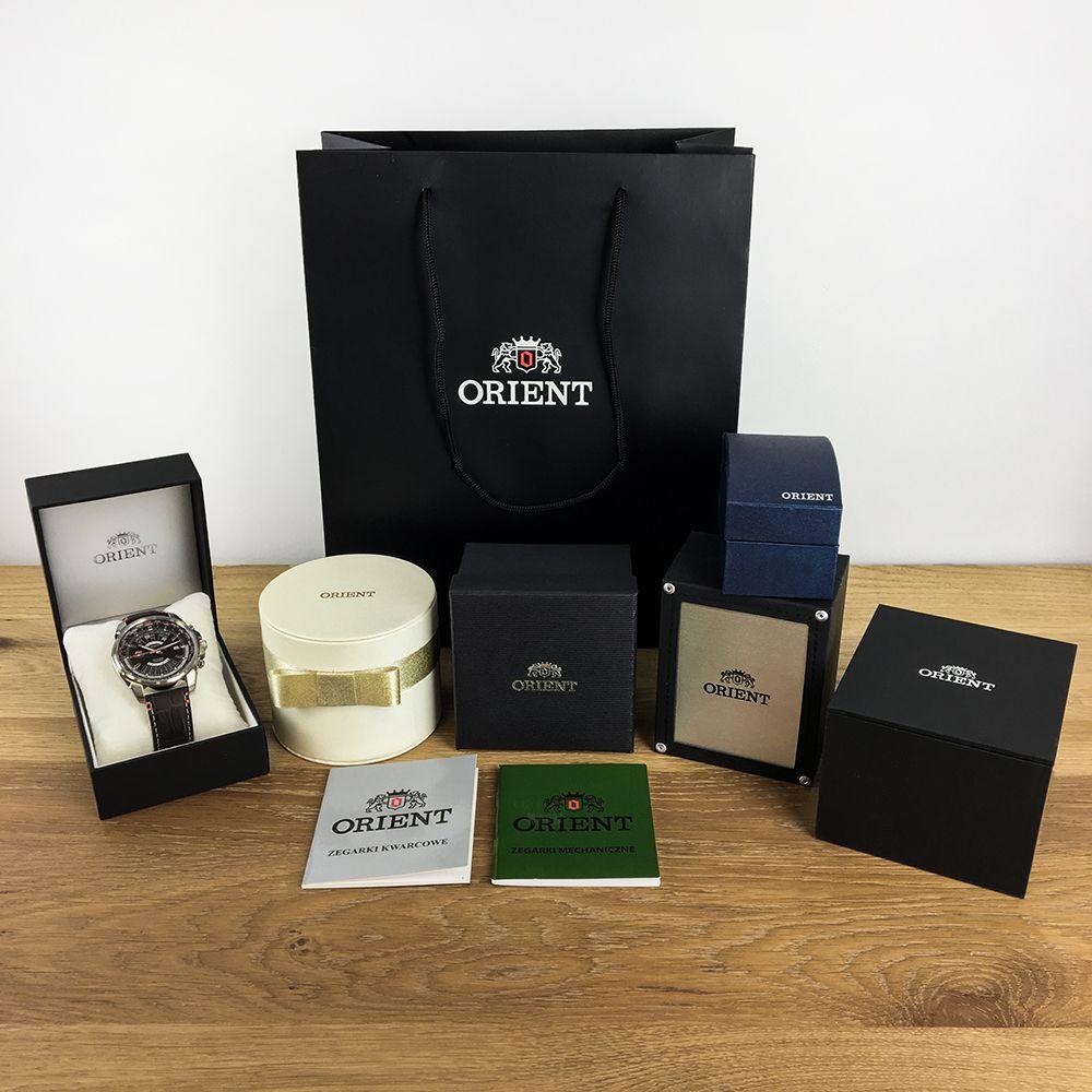Zegarek męski Orient contemporary FEU00002DW - duże 1